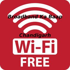 Free :) Free :) Free :) Wifi Internet in Chandigarh Use Broadband Ka Baap App. and use free Wifi Internet in Chandigarh. Google Play store:  https://play.google.com/store/apps/details?id=com.conjoinix.bkb