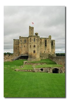 Warkworth Castle - Northumberland England