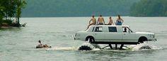 Cool Amphibious Limo. www.midnightrunlimo.com #personalchauffeur #privatedriver #orangecountylimo