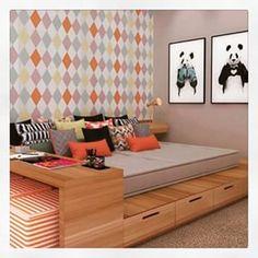 cama tablado com gavetas - Pesquisa Google