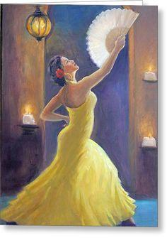 Flamenco Paintings Painting - Candelight Castinetts by Gwen Carroll Spanish Dancer, Spanish Art, Dance Paintings, Art En Ligne, Sale Poster, Painting Inspiration, Female Art, Art Lessons, Fine Art America