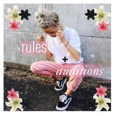 """☾O2 our rules & audition ♡ kay"" by the-aesthetic-girls ❤ liked on Polyvore featuring Avery, ASOS, bgcreations, bgcicons and bgcag"
