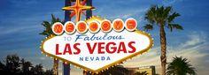 Cartel de Bienvenidos a Las Vegas