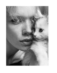 julia hafstrom cat6 Julia Hafstrom Lounges with Cats in Scandinavia S/S/A/W by Hasse Nielsen