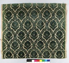 italian silk, late 16th century, metmuseum