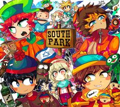 Welcome to the South Park wolrd by Momo-chee on DeviantArt