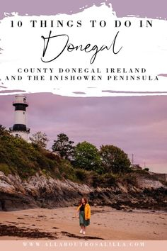 Looking for some staycation ideas in Ireland then look no further than County Donegal. Take a road trip along the scenic Wild Atlantic Way and discover cliffs, quiet coastal towns and beautiful beaches. | Donegal Ireland things to do | Inishowen peninsula | Fanad Head Light Lighthouse| Wild Atlanic Way | #Donegal #staycationireland #staycationideas #irelandstaycation #donegalirelandthingstodo#fanadheadlighthouse #malinhead #wildatlanticway #irelandroadtrip Ireland Travel Guide, Europe Travel Tips, Places To Travel, Travel Destinations, Best Of Ireland, Wild Atlantic Way, Best Travel Guides, Donegal, English Countryside