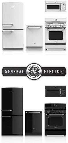 Really like these designs by GE Artistry. GE Artistry Series Appliances- I never thought I would like white appliances, but I'm kind of digging this retro look.