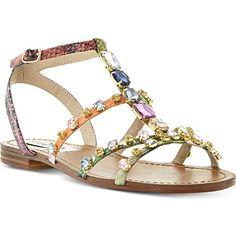 STEVE MADDEN B Jewelled embellished sandals