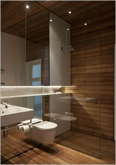 Shower room. Mirror. Prefer solid wall shower enclosure -no glass. No pedestal. Wall mounted mixer taps