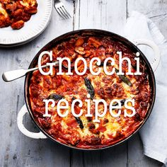 Make the most of those little fluffy potato dumplings with our favourite gnocchi recipes. Fun Cooking, Cooking Recipes, Yummy Treats, Yummy Food, Midweek Meals, Gnocchi Recipes, Moussaka, Dumplings, Italian Recipes