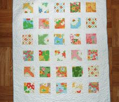 baby quilt from etsy