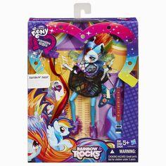 Rainbow Dash Rockin' Hair Rainbow Rocks Equestria Girls Doll