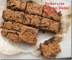 Suikervrije Wortel Dadel Boekweit Repen | De Bakparade
