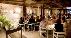 ABC Kitchen, NYC - Best new restaurant in the USA - James Beard Awards 2011 I love the atmosphere here... http://giadadelaurentiis.com/giada/faves/20/new-york