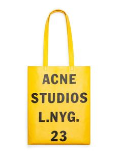 ACNE - Rumor Golden Yellow Shop Ready to Wear, Accessories, Shoes and Denim for Men and Women Designer Handbags Uk, Designer Bags, Leather Handbags, Jute, Purse For Teens, Puppy Backpack, Yellow Shop, Studio, Accessories