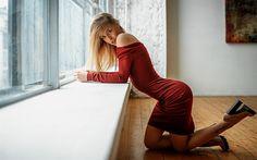 Lataa kuva Saippua Prihojeva, photomodels, kauneus, blondi, kaunis nainen