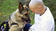 How a service dog helped this veteran keep his family