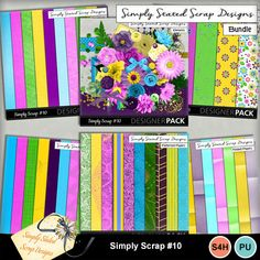 Full bundle for the Simply Scrap kit #10. Personal & Scrap for Hire use only. Full size. 300 dpi. 12 x 12. Cardstock, Daisy Papers, Embossed Papers, Folded Papers, Patterned Papers, Beads, Bows, Brads, Buttons, Corners, Flowers, Frames, Leaves, Masks, Ribbons, Scatters, Wrappers #mymemories #mymemoriessuite #scrapbooking #digitalscrapbooking #digitalscrapbookkits #kits #papers #elements #tags #frames #flowers #digitalflowers #digitalpapers #digitalribbons  #digitalframes  #digitalmasks