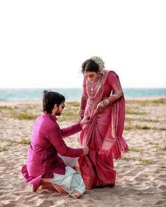 Ideas Wedding Couple Poses In Saree Couple Photoshoot Poses, Saree Photoshoot, Pre Wedding Photoshoot, Couple Posing, Saris, Lehenga, Sabyasachi, Indian Wedding Couple, Wedding Couples