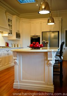 French provincial kitchen design - Harrington Kitchens.
