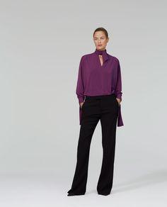 Obrázok 1 z BLÚZKA S MAŠĽOU od spoločnosti Zara