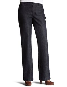 Lee Women's Comfort Waist Straight Leg Pant Lee. $32.90. No-gap waistband. 72% Cotton, 26% Polyester, 2% Spandex. Classic zip fly and button closure. Machine wash warm with like colors, only non-chlorine bleach when needed, tumble dry low, low iron