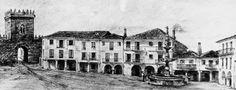 Calles de Pontevedra: Plaza de A Ferrería.1852