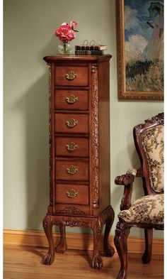 The Design Toscano English Chippendale Tallboy is a fantastic recreation of a traditional Chippendale piece. The body is made from solid hardwood with. Classic Furniture, Furniture Styles, Home Decor Furniture, Accent Furniture, Online Furniture, Wood Furniture, Vintage Furniture, Furniture Design, Glam Master Bedroom