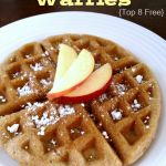 Your family is going to love this Allergy Friendly Cinnamon Waffle Recipe gluten, dairy, egg, nut free waffle recipe.