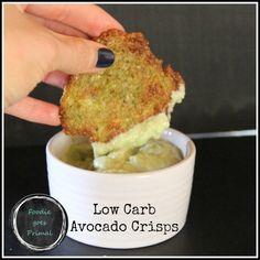 Low Carb Avocado Crisps - Foodie goes Primal