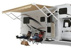 The Carefree 12V Travel'r. Ideal for 5th Wheels and Travel Trailers. #LiveCarefree