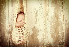 Crochet Hanging Infant Stork Pouch Cocoon by lmelissari on Etsy, $17.00
