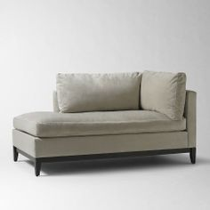 Blake Down-Filled Chaise- West Elm