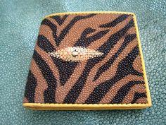 stingray  Bifold wallet by Ossora on Etsy