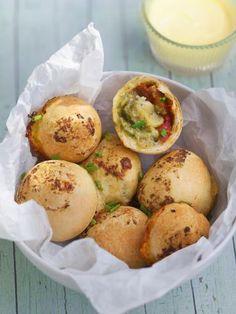 Pizza façon muffin : Recette de Pizza façon muffin - Marmiton