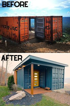 Sea Container Homes, Shipping Container Home Designs, Shipping Container House Plans, Building A Container Home, Storage Container Homes, Container Buildings, Container Architecture, Container House Design, Tiny House Plans