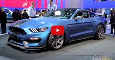 Ford Unveiled The 2016 Shelby Mustang GT350R