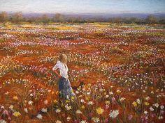 Rayma Reany   Pastel Society of Western Australia - Rayma Reany – Amongst the Wildflowers