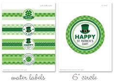 Free St. Patrick's Day Printables | How Does She...