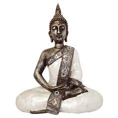 Grote Thaise Meditatie Boeddha Urn (ca. 4 liter as-inhoud)