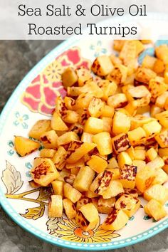 to cook delicious oven roasted turnips (rutabaga) with sea salt and olive oil. A simple, easy turnip recipe - and it's the perfect way to cook turnips. Pastas Recipes, Vegetable Recipes, Vegetarian Recipes, Cooking Recipes, Healthy Recipes, Healthy Cooking, Easy Recipes, Salad Recipes, Keto Recipes