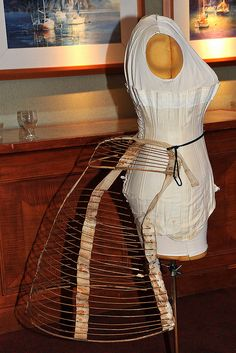 Dressmaker Form With Bustle, via Flickr. by Photo Kight at Steamcon II