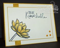 Remarkable You - Stampin' Up! - Simple Sunday