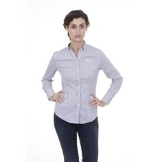 Blue S Fred Perry Womens Shirt 31213070 0033