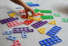 Numicon - a visual aid to help children with maths