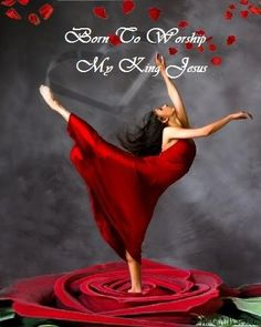 One day... in Heaven....I will dance before JESUS in Praise to HIS HOLY NAME!
