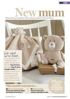 PRINT - Practical Parenting & Pregnancy August 2011: New mum section opener