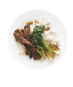 Beef and Bok Choy Stir-Fry