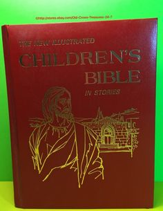 Vintage The New Illustrated Children's Bible in Stories Hard Cover | eBay